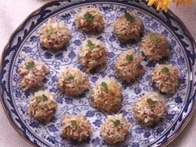 Savoury glutinous rice dumplings