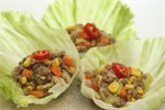 Lettuce With Stir-fried Beef and Assorted Vegetables